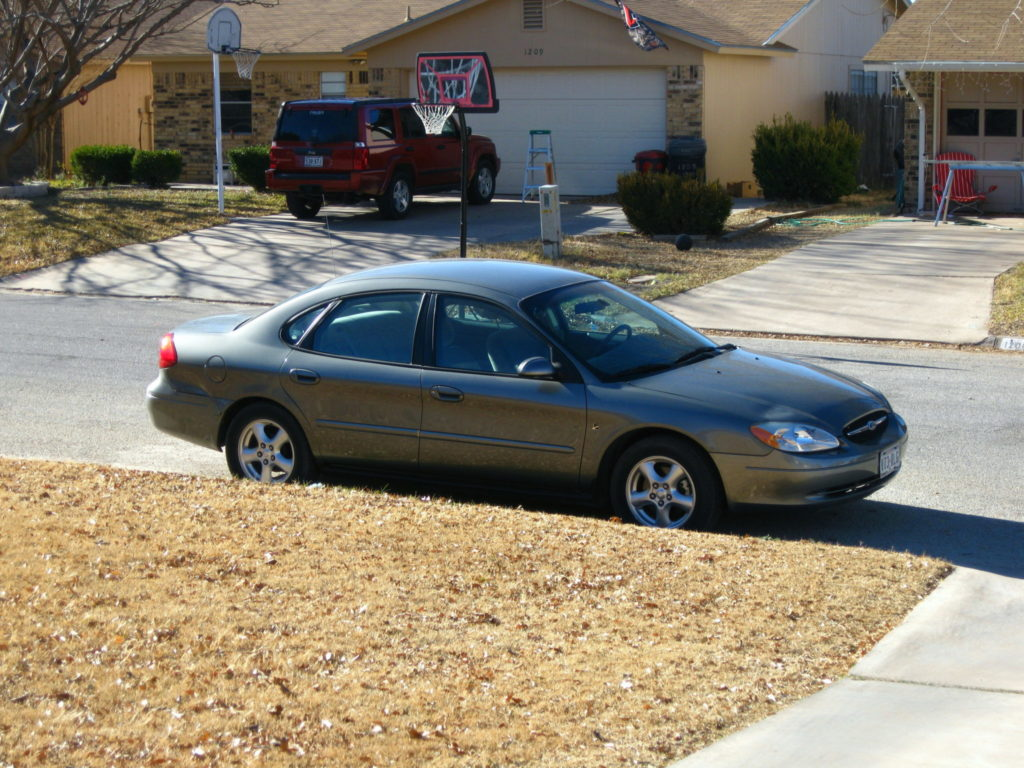 My 2002 Ford Taurus