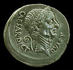 denarius julius caesar by Jennifer Mei, on Flickr