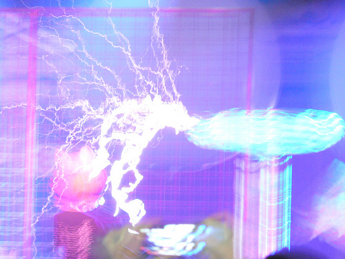 Tesla Coils! 2012 Maker Faire, San Mateo by Marc_Smith, on Flickr