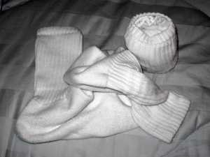 Photo of Dirty and Clean Socks