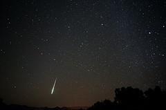 Photo of meteor