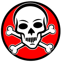 Skull and Cross Bones Arsenic Poison