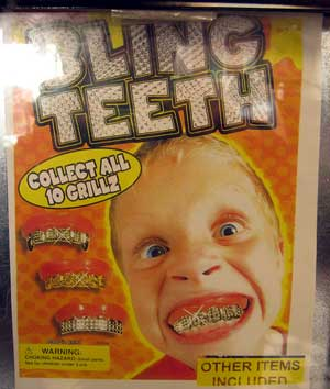 Ancient Grills, Bling Found in Teeth