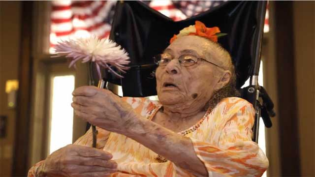 At 116 Years Old, Gertrude Weaver Says There's a Lot of Competition