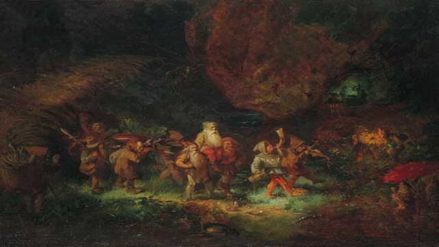 Gnomes in the Forest Pygmies