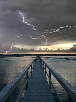 What Happens if you are in the Water when Lightning Strikes?