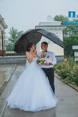 Why is Rain on Your Wedding Day Good Luck?